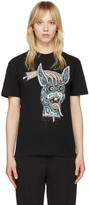 McQ by Alexander McQueen Black 'Bring Me the Head of the Bunny' T-Shirt