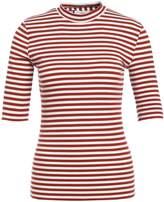 Minimum CHATRINE Print Tshirt red ochre