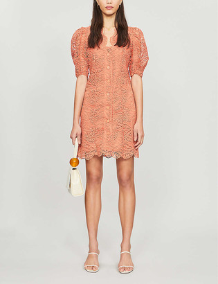 Sandro Livan lace mini dress
