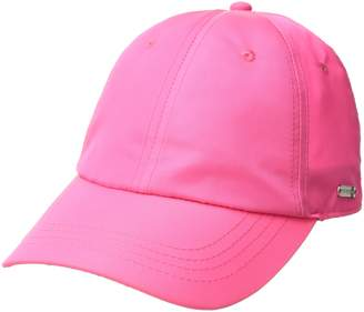 Steve Madden Women's Solid Soft Nylon Baseball Cap