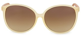Linda Farrow 61MM Round Sunglasses