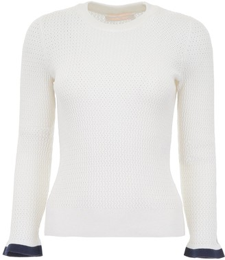 See by Chloe Cut-Out Details Knit Sweater