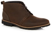 Rockport Tan Lace Up Suede Boots