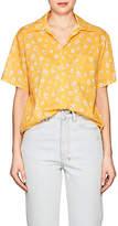 R 13 Women's Skater Daisy-Print Cotton Shirt