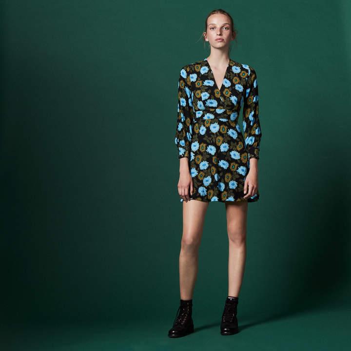 Sandro Printed floral dress