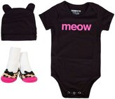 Trumpette Meow Gift Set (Baby) - Black-12-18 Months