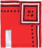 Givenchy - star print scarf - women