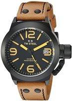 TW Steel Men's CS41 Analog Display Quartz Brown Watch