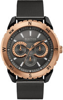Kenneth Cole Reaction Men's Brown Stainless Steel Mesh Bracelet Watch 49mm 10030938