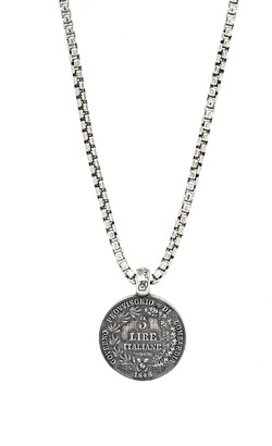 Degs & Sal Ancient Coin Pendant Necklace