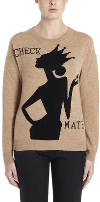 Boutique Moschino Jacquard Motif Sweater