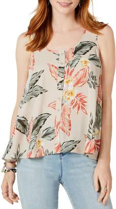 Style&Co. Style & Co. Petite Loose-Fit Printed Tank Top