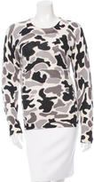 Equipment Cashmere Abstract Print Sweater