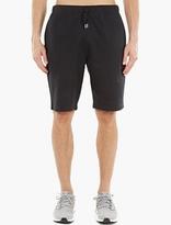 Sunspel Black Cotton-jersey Shorts