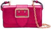 Burberry flap shoulder bag - women - Leather - One Size