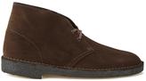 Clarks Originals Desert Boots Brown Suede