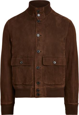 Thumbnail for your product : Ralph Lauren Suede Skeet Jacket