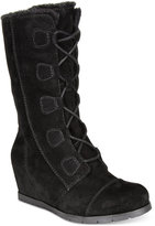 Bare Traps Brinda Lace-Up Hidden Wedge Cold-Weather Boots