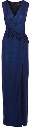 Rachel Zoe Gabrianna Ruched Metallic Jersey Gown