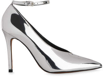 Whistles Compton Stud Ankle Strap Pump
