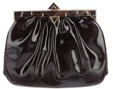 Judith Leiber Patent Leather Frame Clutch
