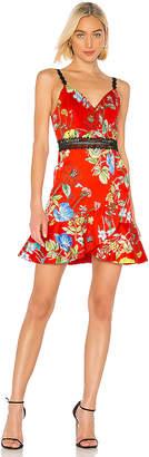 Alice + Olivia Kirby Spaghetti Strap Dress