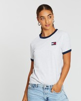 Tommy Jeans Badge Ringer Tee