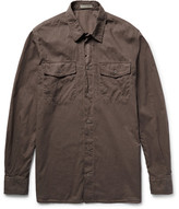 Bottega Veneta Garment-Dyed Cotton Shirt