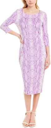 Diane von Furstenberg Saihana Silk Midi Dress