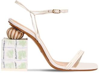 Jacquemus 90mm Les Elme Leather Sandals