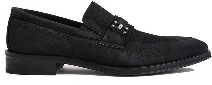 Donald J Pliner COSTA, SIGNATURE Nubuc Leather Loafer
