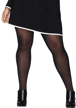 Hanes Plus Size Curves Control Top Tights