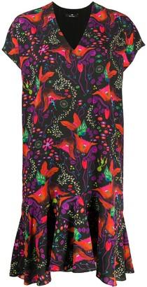 Paul Smith Floral-Print Shift Dress