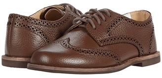 Janie and Jack Wingtip Dress Up Shoe (Toddler/Little Kid/Big Kid)) (Brown) Boy's Shoes