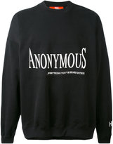 Hood by Air Anonymus sweatshirt - unisex - Cotton - M