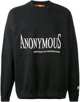 Hood by Air Anonymus sweatshirt