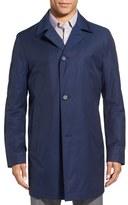 BOSS 'Dais' Cotton Blend Rain Coat
