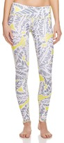 Alo Yoga Airbrush Palm Print Leggings