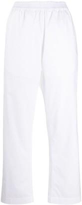 Alberto Biani Straight-Leg Track Pants
