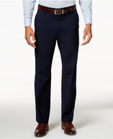 Alfani Men's Traveler Navy Solid Classic-Fit Pants, Only at Macy's