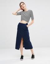 Just Female Lucer Denim Midi Skirt