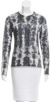 Lucien Pellat-Finet Sequin Embellished Tie-Dye Sweater