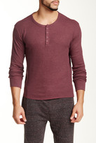 Bottoms Out Thermal Henley Tee