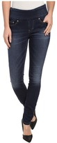 Jag Jeans Nora Pull-On Skinny Knit Denim in Blue Ridge