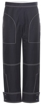 Stella McCartney Cotton-blend Cropped Trousers