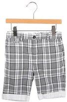 Dolce & Gabbana Boys' Checkered Shorts
