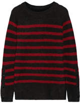 By Malene Birger Iwannio Striped Knitted Sweater - Claret