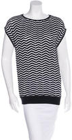 M Missoni Chervon Sleeveless Top