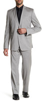 Versace Notch Lapel Two Button Wool Suit