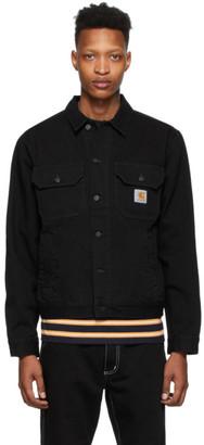 Carhartt Work In Progress Black Denim Stetson Jacket